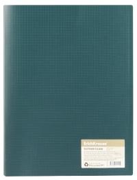 Папка с пружинным скоросшивателем А4 ECO4 зеленый 31128